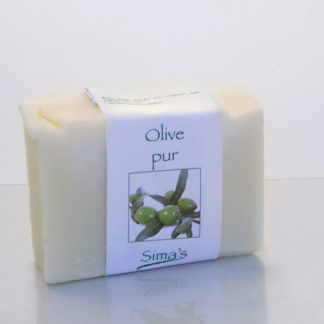 Olive pur - Seife von Sima' s