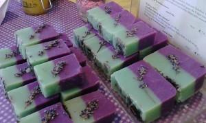minz lavendel seife