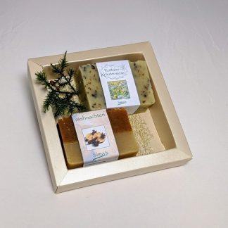 Simadretto Geschenkset Seifen mit 2 Seifen zu je 130 gramm