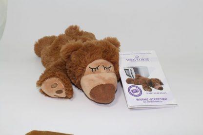 Wärmekissen: Warmies ® Wärme-Stofftier für die Mikrowelle - Sleepy Bear