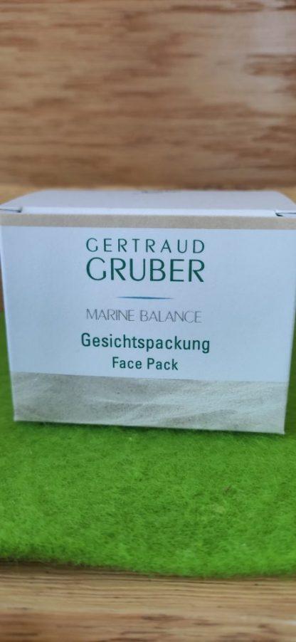 Gertraud Gruber Gesichtspackung Marine Balance