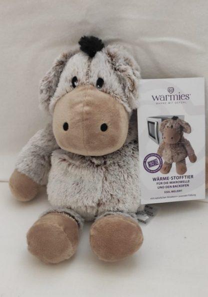 Wärmekissen: Warmies ® Wärme-Stofftier für die Mikrowelle - Esel