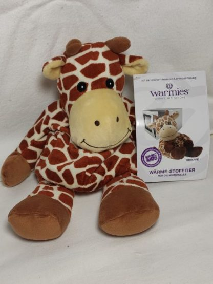 Wärmekissen: Warmies ® Wärme-Stofftier für die MIkrowelle -Giraffe