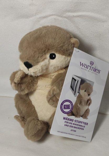 Wärmekissen Warmies ® Wärmestofftier für die MIkrowelle -Otter