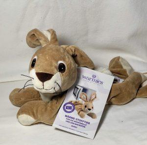 Wärmekissen: Warmies ® Wärme-Stofftier für die Mikrowelle -Bunny