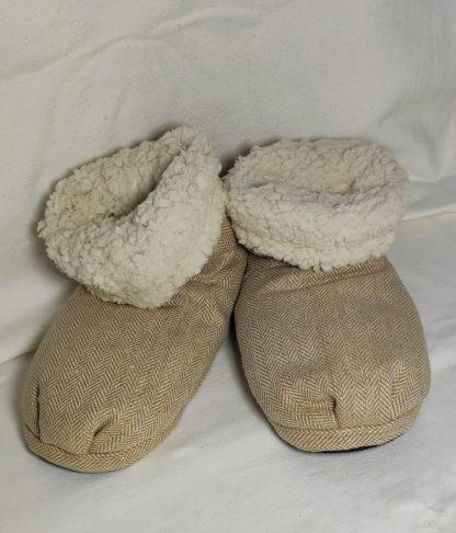 Wärmehausschuhe von Warmies® Slippies Boots -Hausschuhe mit Wärmefunktion